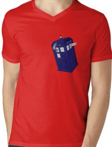Palkia and Dialga: TARDIS Adventures! Mens V-Neck T-Shirt