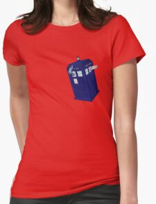 Palkia and Dialga: TARDIS Adventures! Womens Fitted T-Shirt