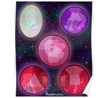 Crystal Gems in Gems Poster