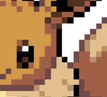 Eevee 8-bit Sticker