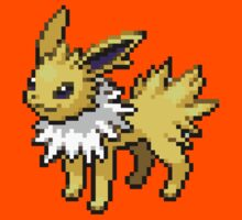Jolteon 8-bit Kids Clothes