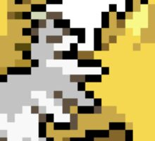 Jolteon 8-bit Sticker