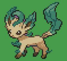 Leafeon 8-bit by Lith1um