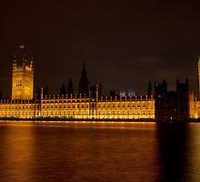 Palace of Westminster, London, UK by strangelight