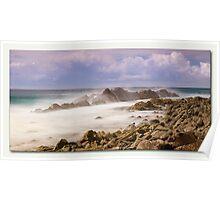 Misty Rocks Forster  Poster