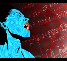 All that Jazz music illustration by SFDesignstudio