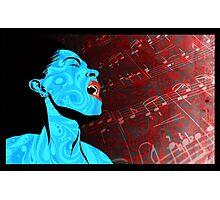 All that Jazz music illustration Photographic Print