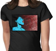 All that Jazz music illustration Womens Fitted T-Shirt