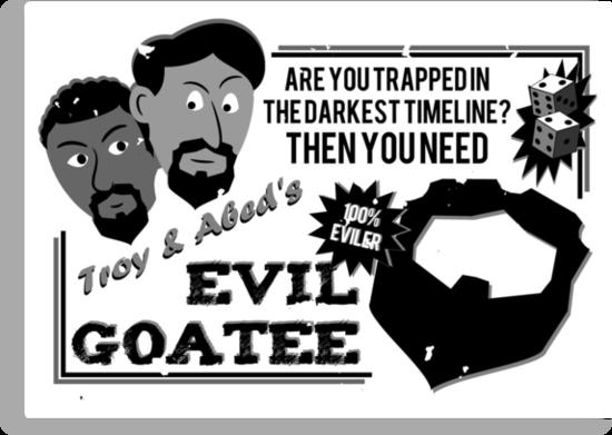 Evil Troy & Evil Abeard by the50ftsnail