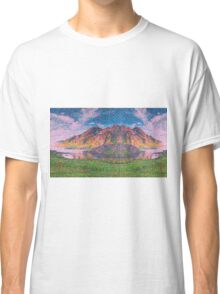 Asymmetrical and Impressionistic view landscape of Norway 04 11 2015 Classic T-Shirt