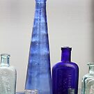 Bottles Blue and Green by coffeebean