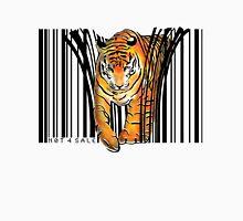 ENDANGERED TIGER BARCODE illustration print Unisex T-Shirt