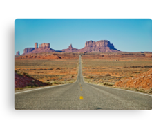 Highway 163 Canvas Print