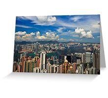 Victoria Peak - Hong Kong Greeting Card