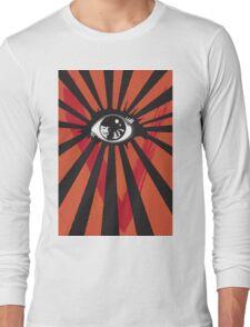 VENDETTA alternative movie poster eyeball print Long Sleeve T-Shirt