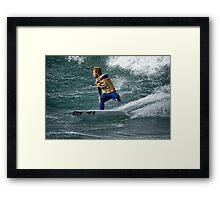 Rip Curl Pro 2012 - Bells Beach - 4 Framed Print