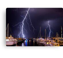 Storm over Nantucket Canvas Print