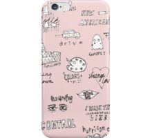halsey doodles iPhone Case/Skin