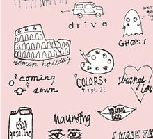 halsey doodles by disconnectd