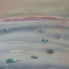 Floes imbedded in the Ice by watercolors1