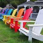Adirondack Musical Chairs by John  Kapusta