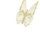 Golden Butterfly see kazm gilded-butterfly by KazM