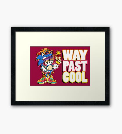 Way Past Cool, Dude! Framed Print