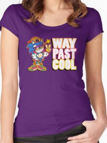 Way Past Cool, Dude! Women's Fitted Scoop T-Shirt
