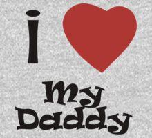 I Love My Daddy One Piece - Long Sleeve