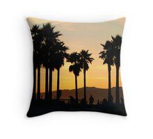 Sunset Skate Throw Pillow