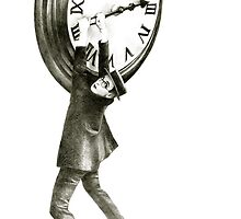 I want to stop time - hommage to Harold Lloyd. by art-koncept