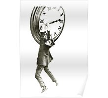 I want to stop time - hommage to Harold Lloyd. Poster