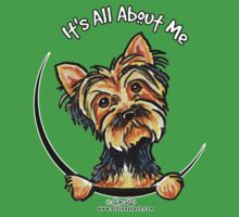 Yorkie Its All About Me Kids Clothes