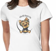 Yorkie Its All About Me Womens Fitted T-Shirt