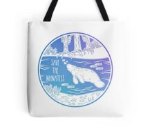 Save the Manatees! Tote Bag