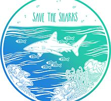 Save the Sharks! by Hannah Diaz