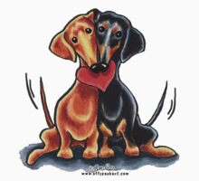 Dachshunds Have Heart by offleashart