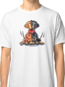 Dachshunds Have Heart Classic T-Shirt