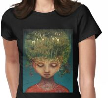 Quietly Wild Womens Fitted T-Shirt