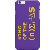 King of the Phone Nerds iPhone Case/Skin