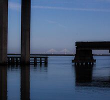 Big bridge by Brenda  Meeks