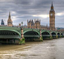 Westminster Bridge by Thasan