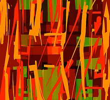 Ripped (orange) by Phil  Hogan