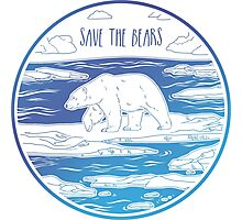 Save the Bears! Photographic Print
