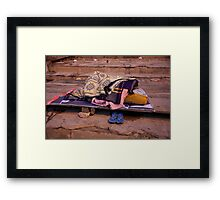 Camping Out Framed Print