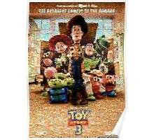 Mosaic Movie Poster: Toy Story 3 Poster