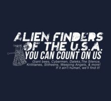 Alien Finders Kids Tee