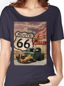 Get your Kicks on Route 66 Women's Relaxed Fit T-Shirt