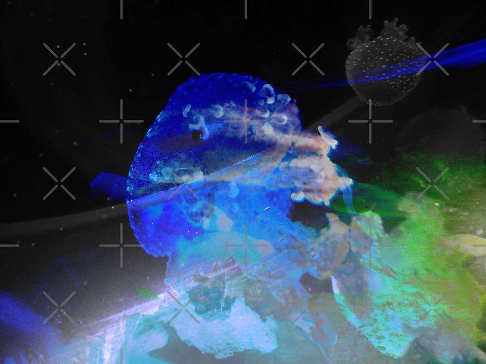 Outer Space Jellyfish by HeklaHekla