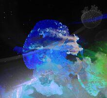 Outer Space Jellyfish by Hekla Hekla